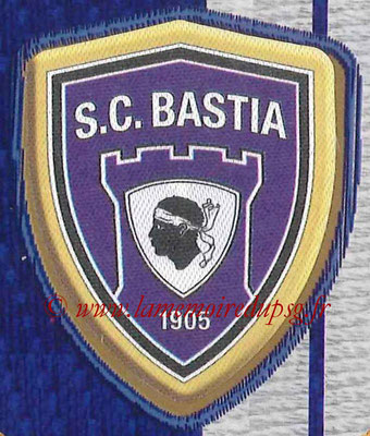 2014-15 - Panini Ligue 1 Stickers - N° 001 - Ecusson SC Bastia