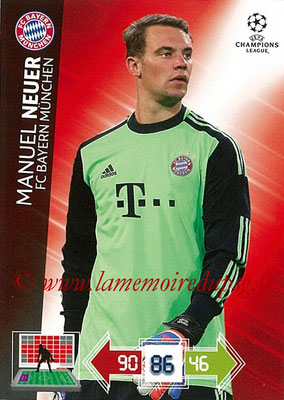 2012-13 - Adrenalyn XL champions League N° 043 - Manuel NEUER (FC Bayern Munich)