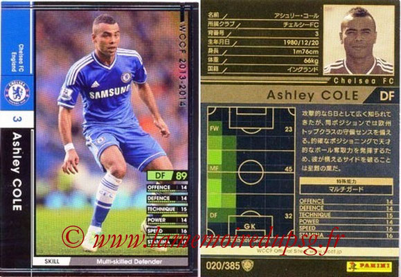 2013-14 - WCCF - N° 020 - Ashley COLE (Chelsea FC)