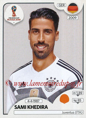 2018 - Panini FIFA World Cup Russia Stickers - N° 448 - Sami KHEDIRA (Allemagne)