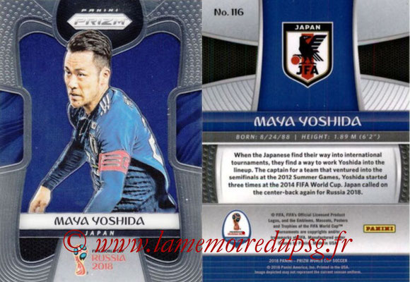 2018 - Panini Prizm FIFA World Cup Russia - N° 116 - Maya YOSHIDA (Japon)