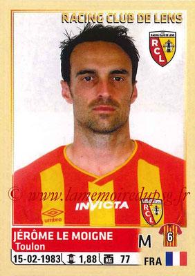 2014-15 - Panini Ligue 1 Stickers - N° 136 - Jérôme LE MOIGNE (RC Lens)