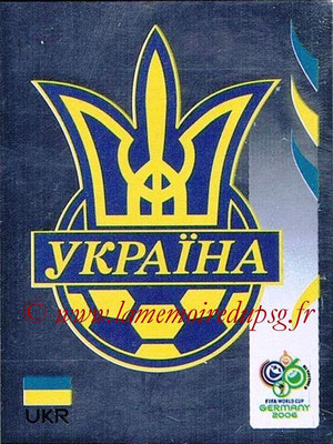 2006 - Panini FIFA World Cup Germany Stickers - N° 550 - Logo Ukraine