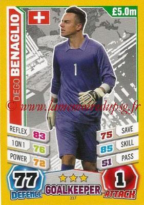 Topps Match Attax England 2014 - N° 217 - Diego BENAGLIO (Suisse)