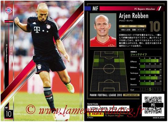 Panini Football League 2013 - PFL02 - N° 093 - Arjen Robben ( FC Bayern Munchen )