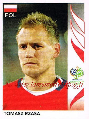 2006 - Panini FIFA World Cup Germany Stickers - N° 061 - Tomaszz RZASA (Pologne)