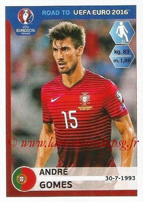 Panini Road to Euro 2016 Stickers - N° 231 - André GOMES (Portugal)