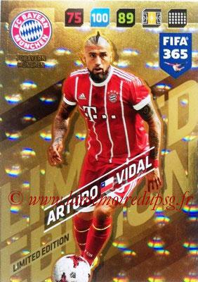 2017-18 - Panini FIFA 365 Cards - N° LE-AV - Arturo VIDAL (FC Bayern Munich) (Limited Edition)