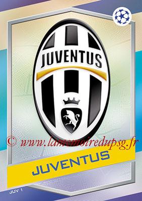 2016-17 - Topps UEFA Champions League Match Attax - N° JUV1 - Logo Juventus FC