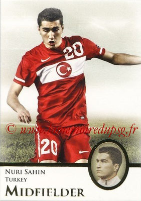2013 - Futera World Football Unique - N° 053 - Nuri SAHIN (Turquie) (Midfielder)