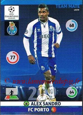 2014-15 - Adrenalyn XL champions League Update edition N° UE070 - Alex SANDRO (FC Porto)
