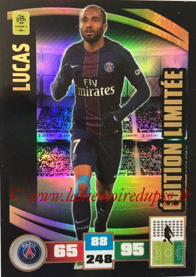 2016-17 - Panini Adrenalyn XL Ligue 1 - N° LE-LU - LUCAS (Paris Saint-Germain) (Edition Limitée)