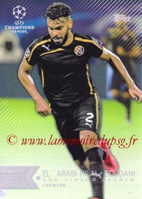 2015-16 - Topps UEFA Champions League Showcase Soccer - N° 156 - El Arabi Hilal SOUDANI (GNK Dinamo Zagreb)