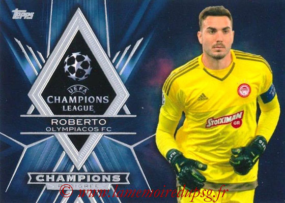 2015-16 - Topps UEFA Champions League Showcase Soccer - N° CP-R - ROBERTO (Olympiacos FC) (Champions Pedigree)
