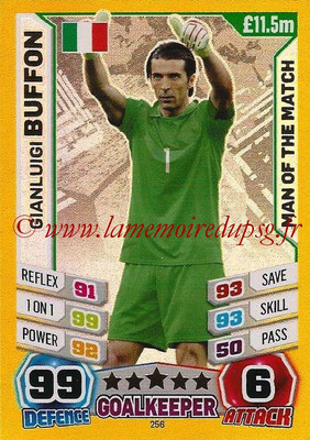 Topps Match Attax England 2014 - N° 256 - Gianluigi BUFFON (Italie) (Man Of The Match)
