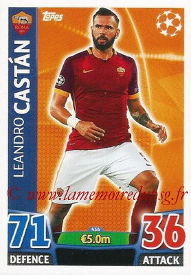 2015-16 - Topps UEFA Champions League Match Attax - N° 436 - Leandro CASTAN (AS Roma)