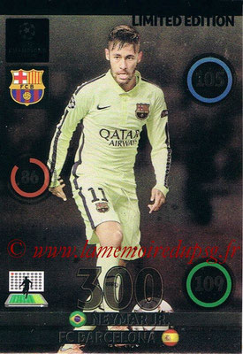 2014-15 - Adrenalyn XL champions League Update edition N° LEU-NE - NEYMAR (FC Barcelone) (Limited Edition)
