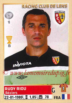 2014-15 - Panini Ligue 1 Stickers - N° 125 - Rudy RIOU (RC Lens)