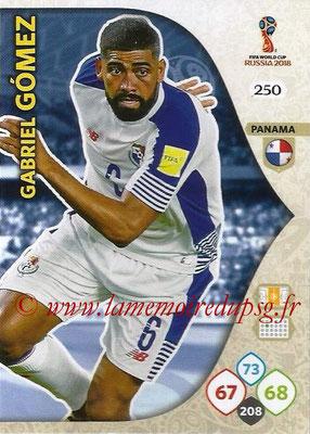 2018 - Panini FIFA World Cup Russia Adrenalyn XL - N° 250 - Gabriel GOMEZ (Panama)