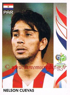 2006 - Panini FIFA World Cup Germany Stickers - N° 128 - Nelson CUEVAS (Paraguay)