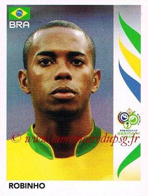 2006 - Panini FIFA World Cup Germany Stickers - N° 395 - ROBINHO (Brésil)
