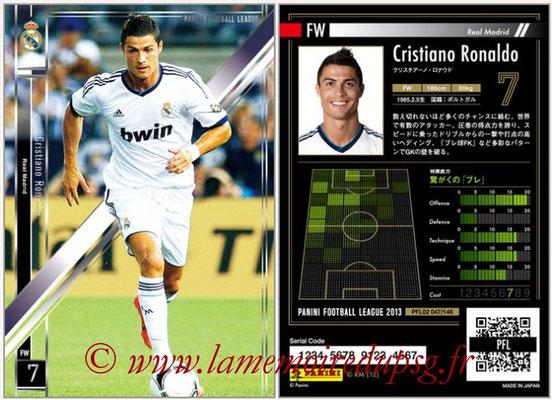 Panini Football League 2013 - PFL02 - N° 047 - Cristiano Ronaldo ( Real Madrid )