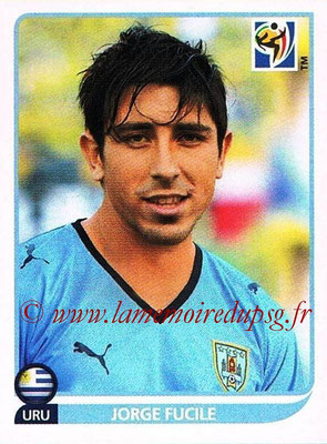 2010 - Panini FIFA World Cup South Africa Stickers - N° 075 - Jorge FUCILE (Uruguay)