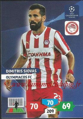 2013-14 - Adrenalyn XL champions League N° 201 - Dimitris SIOVAS (Olympiacos FC)