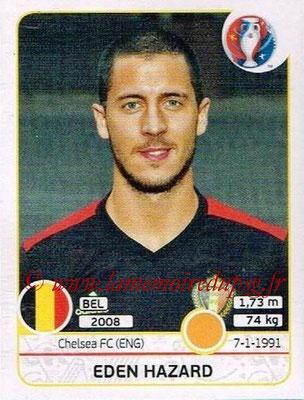 Panini Euro 2016 Stickers - N° 477 - Eden HAZARD (Belgique)