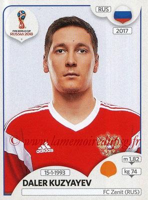 2018 - Panini FIFA World Cup Russia Stickers - N° 048 - Daler KUZYAYEV (Russie)