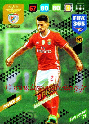 2017-18 - Panini FIFA 365 Cards - N° 441 - PIZZI (SL Benfica) (Game Changer)