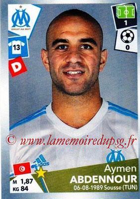 2017-18 - Panini Ligue 1 Stickers - N° 210 - Aymen ABDENNOUR (Marseille)