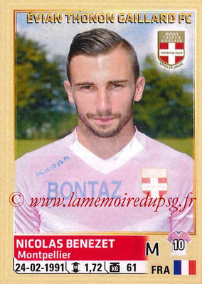 2014-15 - Panini Ligue 1 Stickers - N° 085 - Nicolas BENEZET (Evian Thonon Gaillard FC)
