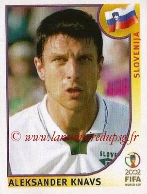 2002 - Panini FIFA World Cup Stickers - N° 118 - Aleksander KNAVS (Slovénie)