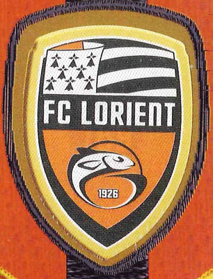 2014-15 - Panini Ligue 1 Stickers - N° 169 - Ecusson Lorient