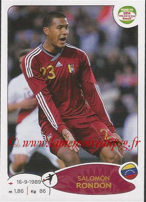 2014 - Panini Road to FIFA World Cup Brazil Stickers - N° 242 - Salomon RONDON (Vénézuela)