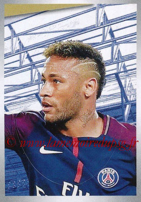 2017-18 - Panini Ligue 1 Stickers - N° 390 - NEYMAR Jr. (Paris Saint-Germain)