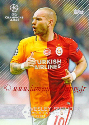 2015-16 - Topps UEFA Champions League Showcase Soccer - N° 069 - Wesley SNEIJDER (Galatasaray AS)