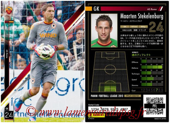 Panini Football League 2013 - PFL01 - N° 034 - Maarten Stekelenburg ( AS Roma )