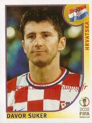 2002 - Panini FIFA World Cup Stickers - N° 489 - Davor SUKER (Croatie)