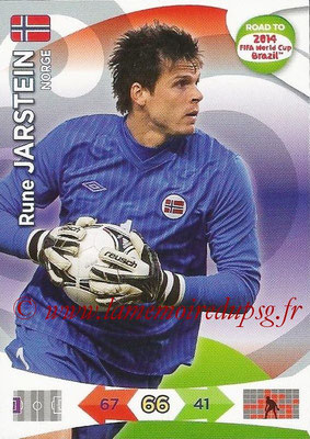 2014 - Panini Road to FIFA World Cup Brazil Adrenalyn XL - N° 139 - Rune JARSTEIN (Norvège)
