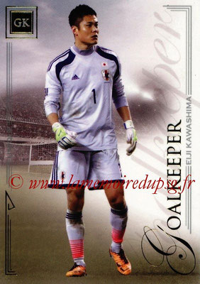 2014 - Futera World Football Unique - N° 005 - Elji KAWASHIMA (Goalkeeper)