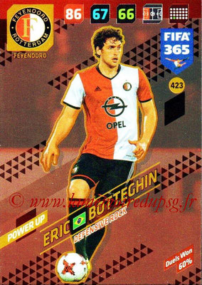2017-18 - Panini FIFA 365 Cards - N° 423 - Eric BOTTEGHIN (Feyenoord) (Defensive Rock)