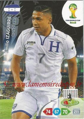 2014 - Panini FIFA World Cup Brazil Adrenalyn XL - N° 189 - Emilio IZAGUIRRE (Honduras)