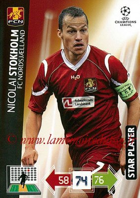 2012-13 - Adrenalyn XL champions League N° 179 - Nicolas STOKHOLM (FC Nordsjaelland) (Star Player)
