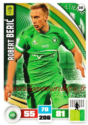 2016-17 - Panini Adrenalyn XL Ligue 1 - N° 341 - Robert BERIC (Saint-Etienne)