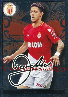 2017-18 - Panini Ligue 1 Stickers - N° 285 - Steven JOVETIC (Monaco) (Top Recrue)