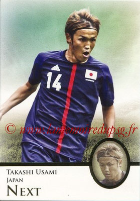 2013 - Futera World Football Unique - N° 100 - Takashi USAMI (Japon) (Next)