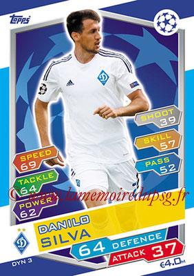 2016-17 - Topps UEFA Champions League Match Attax - N° DYN3 - Danilo SILVA (FC Dynamo Kiev)