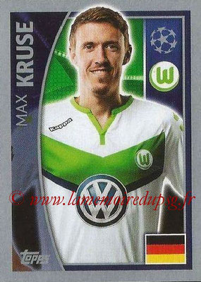 2015-16 - Topps UEFA Champions League Stickers - N° 145 - Max KRUSE (VFL Wolfsburg)